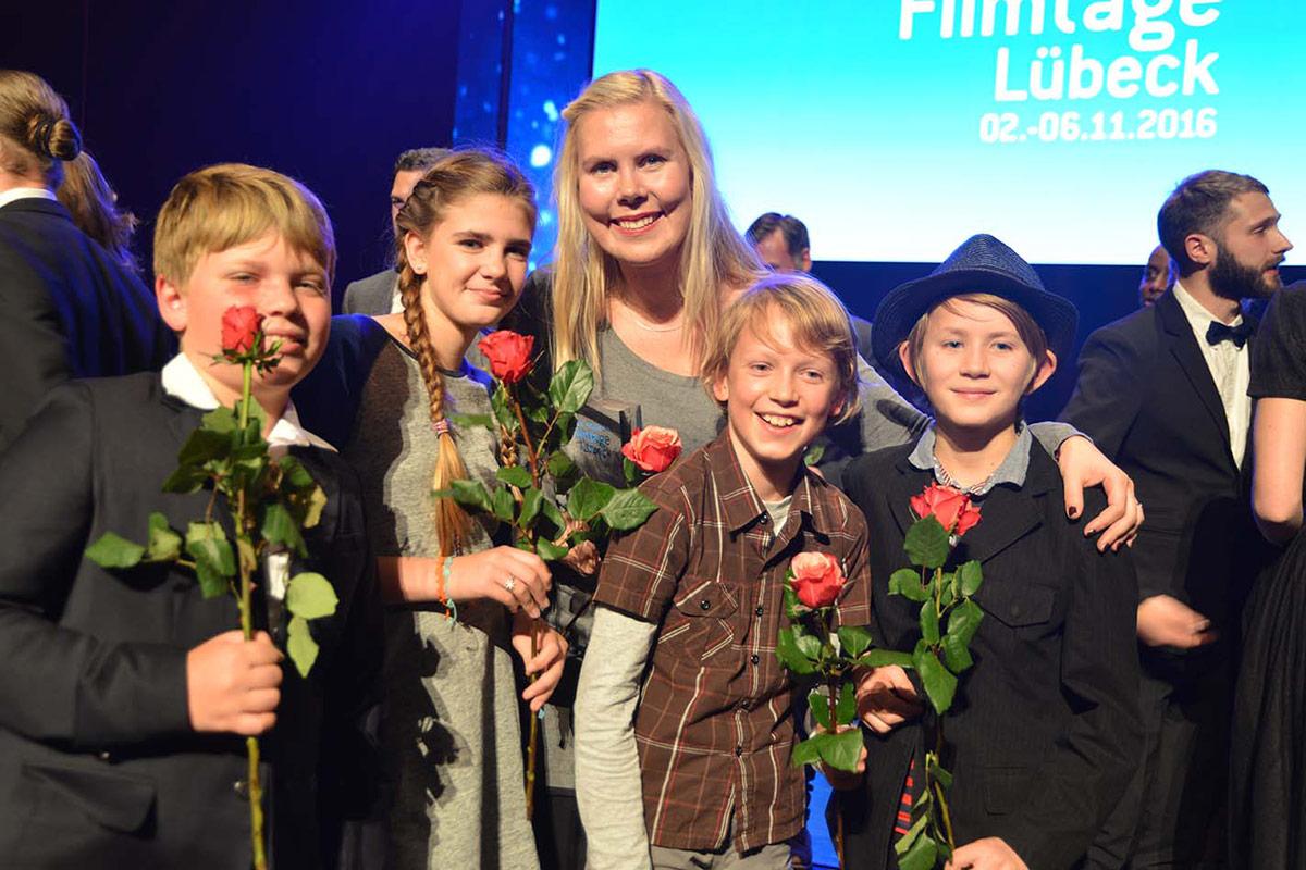 Sie entschieden sich für einen ganz spannenden Film: Kinderjury mit Regisseurin Hanne Larsen
