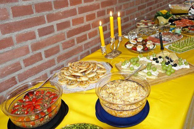 Köstliches aus heimischen Hobbyküchen: Buffet beim Neujahrsbrunch