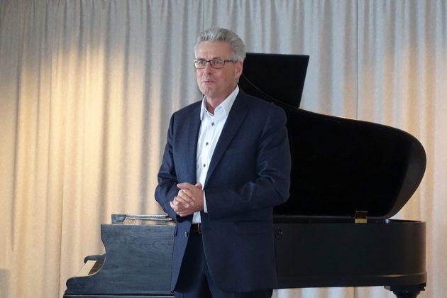 Bürgermeister Volker Owerien lobt das Engagement der Kulturvereine in Klingberg