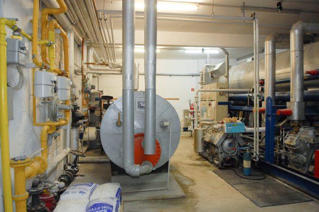 Zum ersten Mal konnten die Besucher einen Blick in die Technikräume des ETC werfen. Hier ist eine Sanierung dringend notwendig. (Foto: Susanne Dittmann)