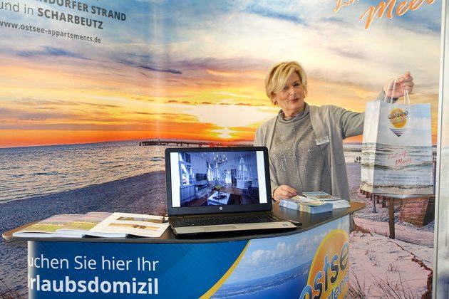 Heike Wongel präsentiert persönlich ihre Ostsee Appartements in bester Lage