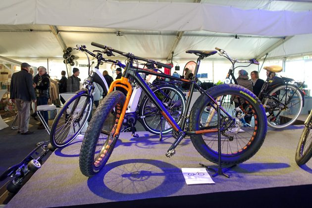 Tobis Fahrräder, Segways und Moutainbikes stehen im Mittelpunkt der Ausstellung