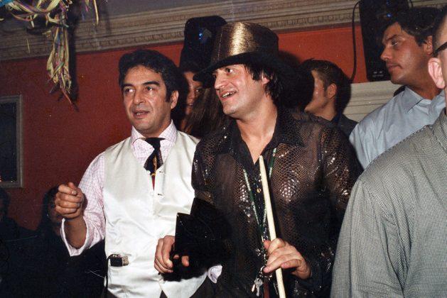 Zwei Nautic-Legenden: Ayhan (li) und Virgil bei der Party