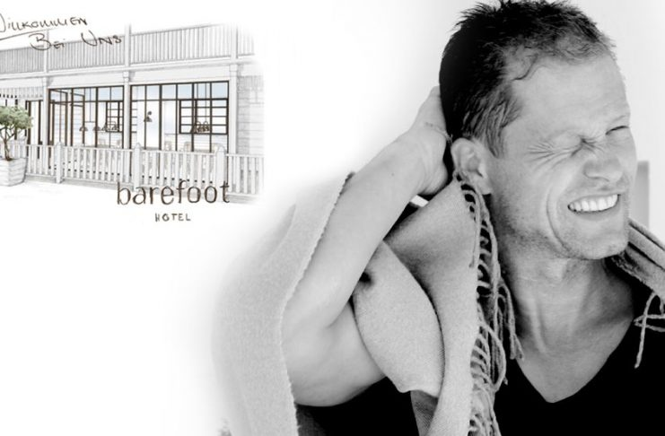 Til Schweiger eröffnet sein Barefoot-Hotel. Vielleicht gehören Sie zu den Gästen der Eröffnungsparty © barefoot Hotel