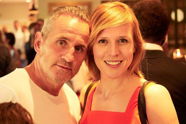 Tim Wilde und Franziska Weisz © barefoot Hotel Bob Leinders