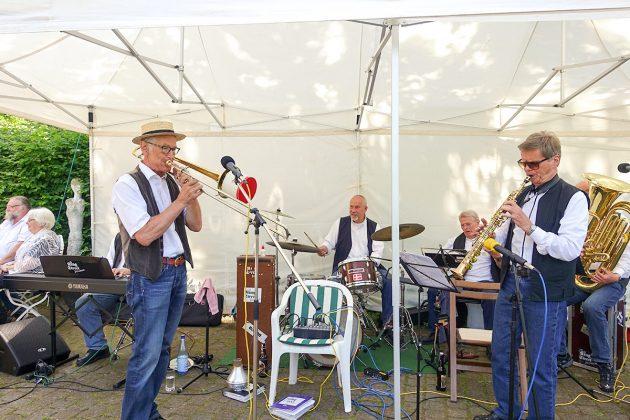 Fetziger Jazz von den King Street Jazzmen sorgte für gutes Entertainment