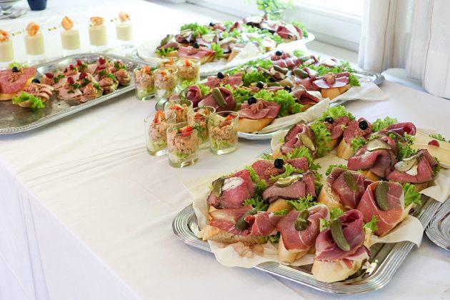 Hausgemacht und richtig lecker: Brote und Snacks vom kalten Buffet