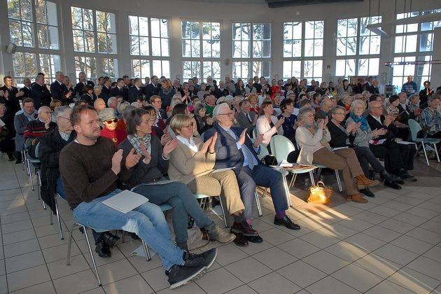 Voll besetzt war die Timmendorfer Trinkkurhalle beim Neujahrsempfang am 14. Januar. © Susanne Dittmann