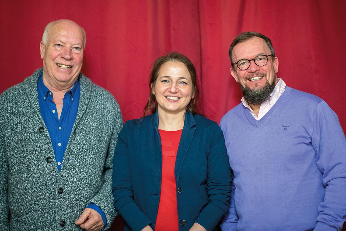 Die SPD steht geschlossen hinter Hatice Kara: Ortsvereinsvorsitzender Peter Ninnemann (li) und Fraktionschef Jörn Eckert (re)