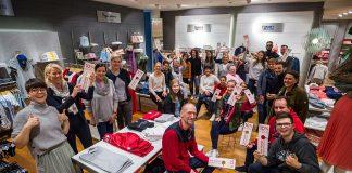 Motiviert und engagiert startet das Peek&Cloppenburg-Team in den neuen, attraktiven Geschäftsräumen © Olaf Malzahn
