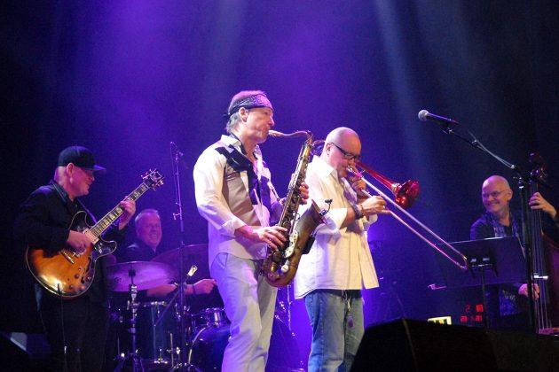 Musikalisches Highlight mit Nils Landgren (vorne re) und seiner Band © Susanne Dittmann
