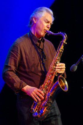 Furioses Saxophon-Solo mit Jan Garbarek, einer der Stars der JazzBaltica © Susanne Dittmann