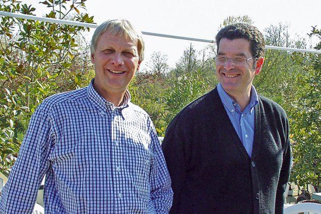 Seit 35 Jahren kümmern sie sich um über tausend Vögel und etliche tausend Gäste: Klaus Langfeldt und Massimo Menghini