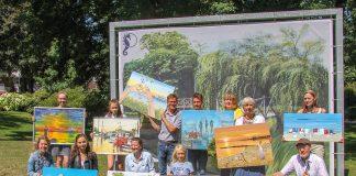 """Das Thema """"#timmenlove Mein Lieblingsplatz"""" hat 97 Künstler inspiriert, ihre Eindrücke auf Leinwand zu bringen. Hier sind die Preisträger dieser Ausstellung im Grünen."""