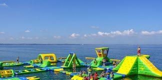 Ein stolzes Gebilde mitten in der Ostsee: Die Timmendorfer sind stolz auf ihr neues Spaß-Zentrum