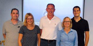 Beim ersten Info-Abend am 17. August stellte sich die neue, erfahrene Führungsriege vor, mit Joki Dittrich, Michael Weissin, Monika Hagen-Linow, Sabine Jensen und Timo Lichtenfeld (Foto: Susanne Dittmann)