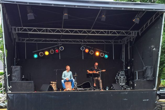 Softer Sound am Sonntagnachmittag: Urban Beach auf der Bühne
