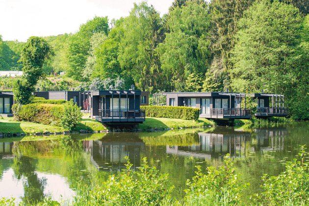 Ferienhäuser im Grünen und direkt am See: Ein Urlaubstraum mit Naturgenuss