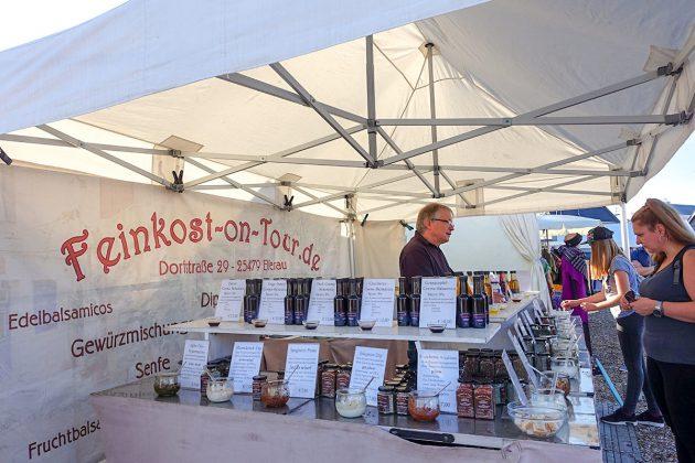 """Köstliche Würze für GenieÃer: """"Feinkost-on-Tour"""" im Niendorfer Hafen"""