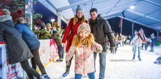 Riesenspaß für Kufenflitzer: die Hafenheimat on Ice lädt in Neustadt zu viel Spaß und Unterhaltung ein. © OHT Oliver Franke