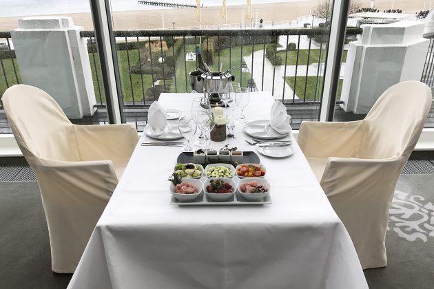 Die Lage ist einzigartig: Das ehemalige Casino Travemünde hat sich in das ATLANTIC Grand Hotel verwandelt und bietet feinste Kulinarik
