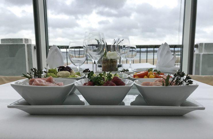 """Das müssen Sie erlebt haben: Ein köstliches Fondue direkt am Meer gibt es am 22. und 29. März im ATLANTIC-Raum """"Baltic View"""""""