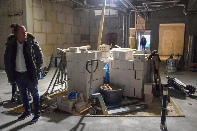 Noch sieht es einfach nur nach Baustelle aus - aber die neuen Betreiber sind sicher: Der alte Charme kommt zurück © Katrin Gehrke