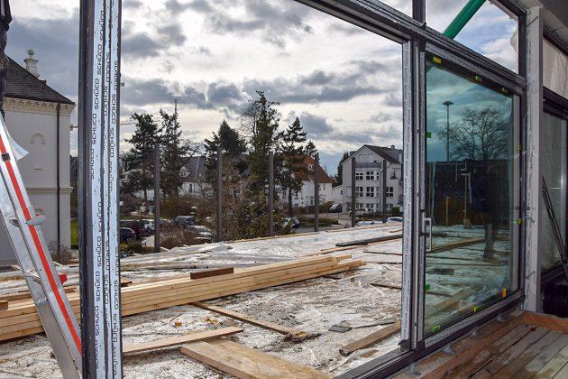 Auch die Dachterrasse soll wieder ihre alte Attraktivität wiedergewinnen © Katrin Gehrke