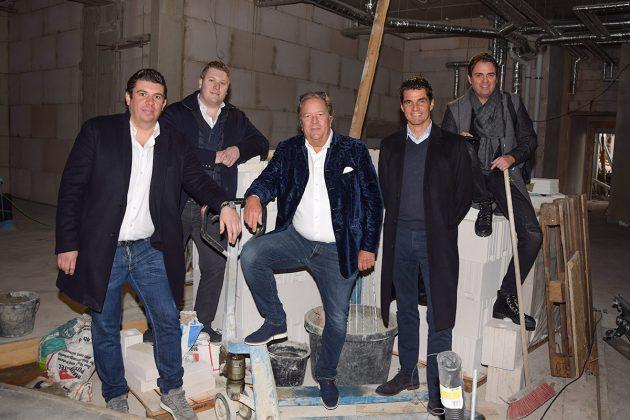Das neue Nautic Team mit John, Marc und Thomas Röger, Wilhelm Hakim und Sandro Schulist (v.links) © Katrin Gehrke