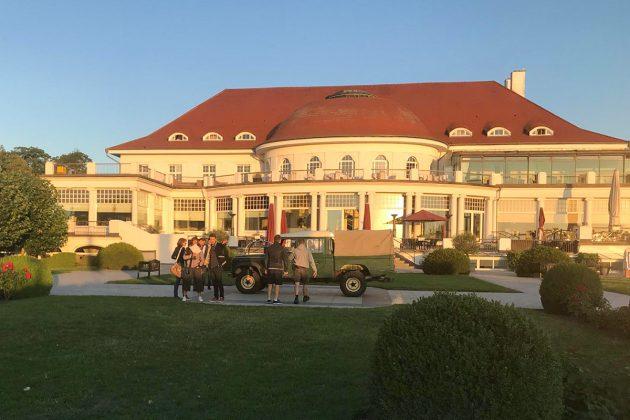 Die traumhaft schöne Bäderarchitektur findet man an der Lübecker Bucht nur noch selten. Das ATLANTIC Grand Hotel war früher das Casino Travemünde, ein Schmuckstück mit Geschichte