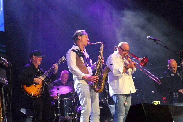 Nils Landgren (rechts) organisiert seit Jahren mit groÃem Erfolg das Jazz-Event © Susanne Dittmann