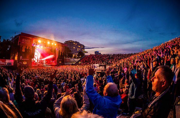 Superstimmung bei Stars am Strand: 15.000 Fans kamen und jubelten © TSNT