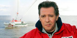Jan Fedder bei den Seenotrettern: Am 30. Dezember 2019 ist der DGzRS-Bo(o)tschafter auf seine letzte Reise gegangen. Foto: Ingo Wagner