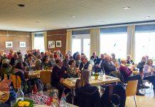 Fröhliche Stimmung in familiärer Runde: der Klingberger Neujahrsbrunch ist Kult.
