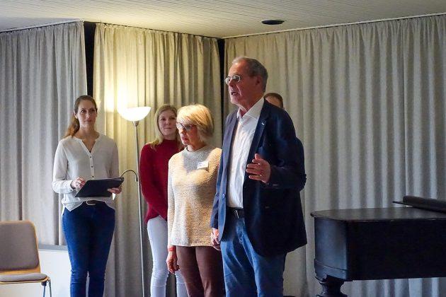 """""""Wir brauchen Unterstützung"""", betonte der Vorstand der Klingberger VHS. Auch für den Vorsitz wird ein Nachfolger oder eine Nachfolgerin gesucht."""