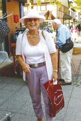 Charmant, engagiert und immer guter Laune: Helga Schütt machte das Leben der Senioren lebenswert