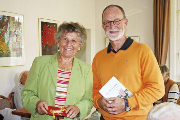 Auch die regionalen Schriftsteller wie Jürgen Vogler wurden zum Vorlesen eingeladen