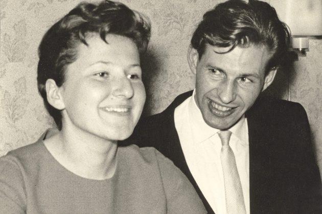 """Als sie sich 1960 kennenlernten, war Helga Schütt im Bugenhagen-Internat als Erzieherin tätig, """"Carlos"""" Schütt war Mathe-Lehrer im OGT"""