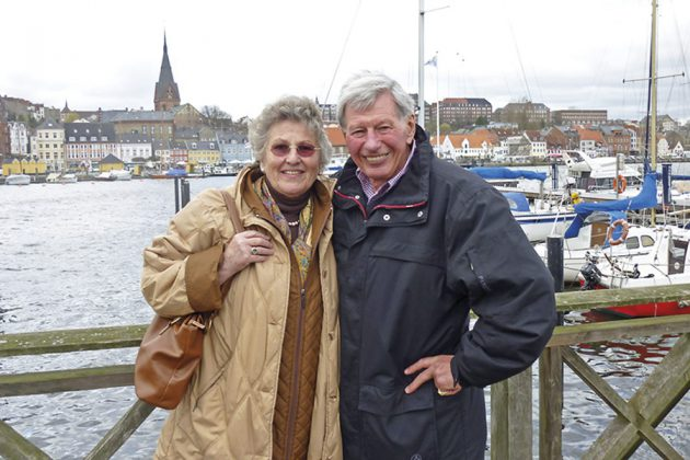 """Diesmal zu zweit auf Tour: Helga und """"Carlos"""" Schütt"""