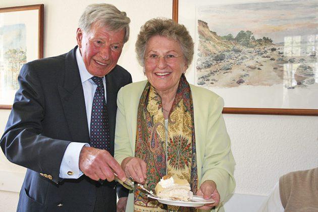 Eine Liebe fürs Leben: Helga und Carlos Schütt bei der Feier zur Goldenen Hochzeit