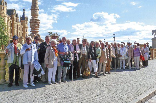 Senioren auf Reisen: Quer durch Deutschland und ins nahe Ausland führte Helga Schütt ihre Barockteenager auf organisierten Touren
