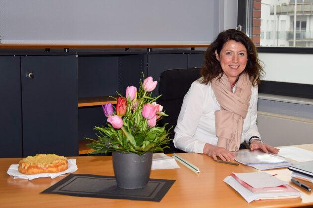 Start als Bürgermeisterin in eine schwierige Zeit: Bettina Schäfer am ersten Arbeitstag im Scharbeutzer Bürgerhaus