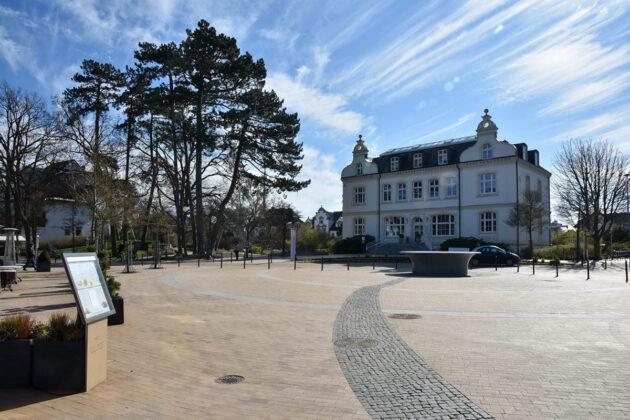 Alles still, alles leer: im März begann der Lockdown in Timmendorfer Strand