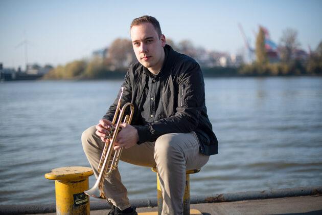 Christian Hoehn spielte in der Big Band des OGT und wurde mit dem diesjährigen IB.SH-JazzAward ausgezeichnet. © Frank Siemers